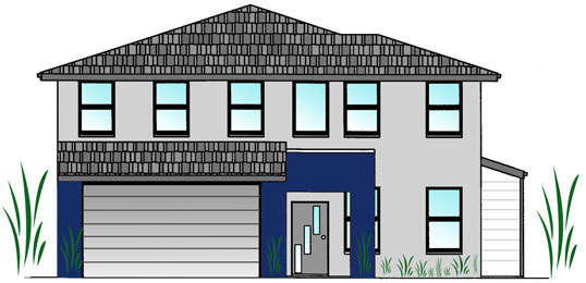 Cassell House Plan Double Storey