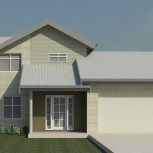 The Bowral 3D View Front